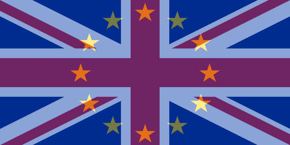 GBP to EUR flags