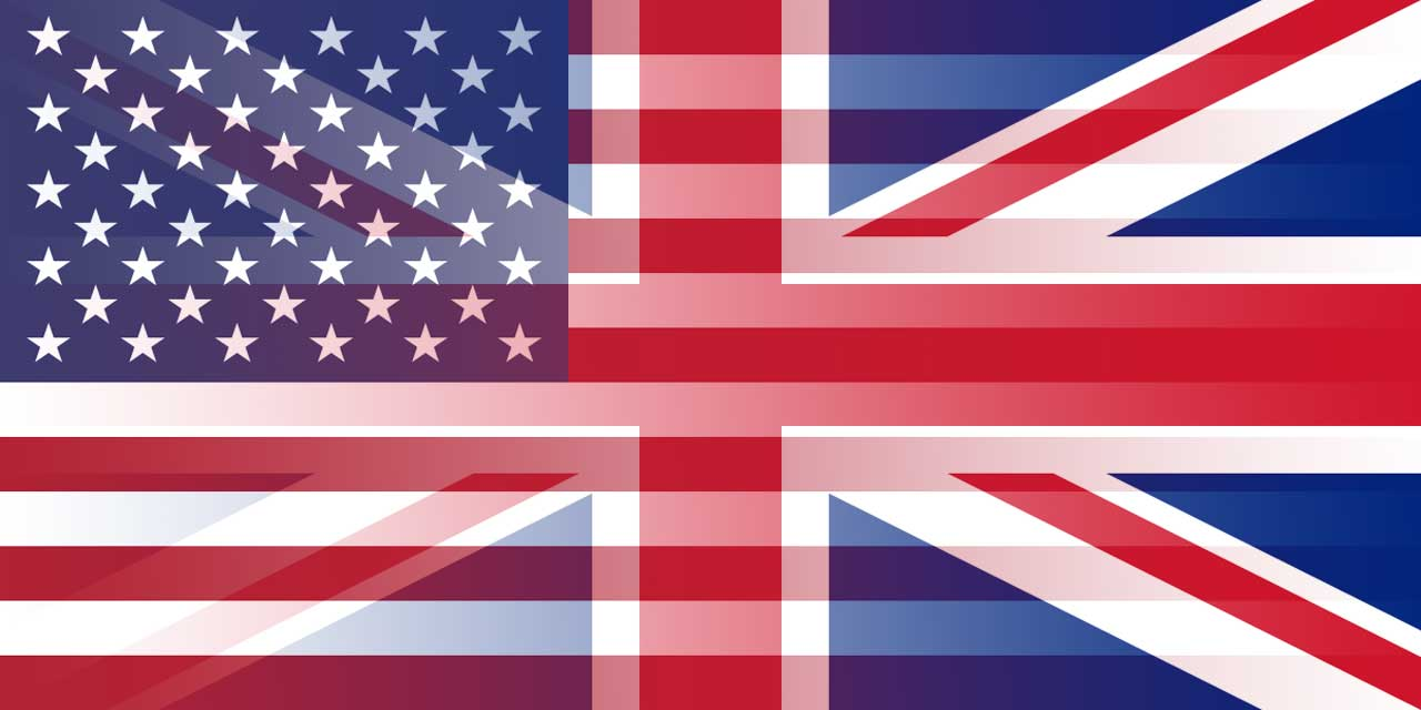 GBP to USD flags