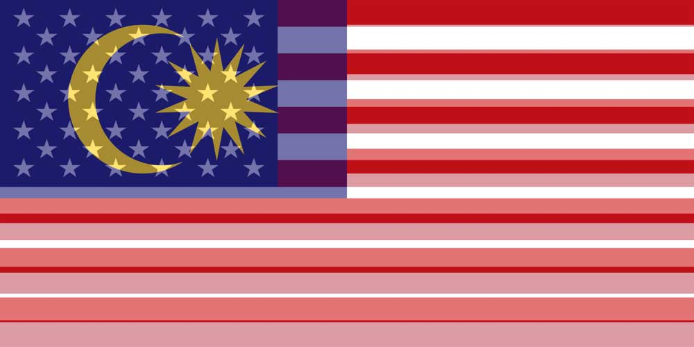 USD to MYR flags